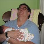 Grandpa & E's first nap